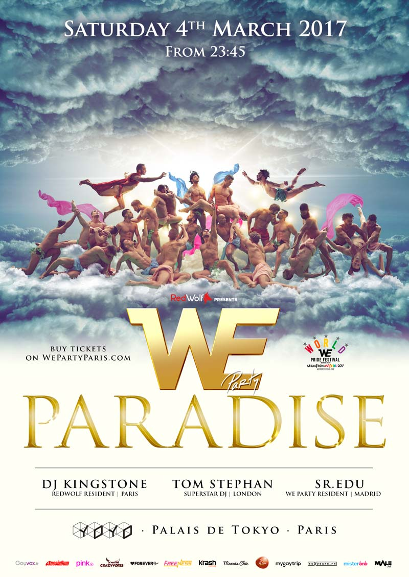 WE PARTY PARADISE